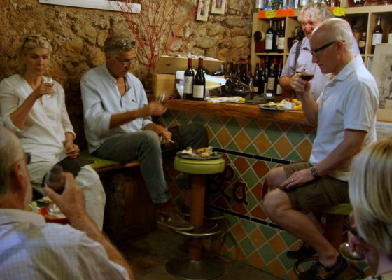 La Cave Cotignac Didier wine cheese masterclass 005