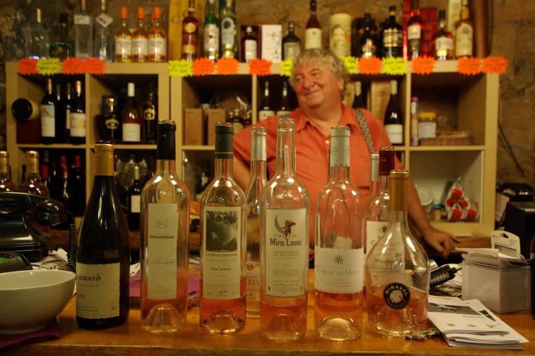 Masterclass rose wine Didier Romieux 2